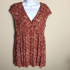 Anthropologie Vanessa Virginia Mini Dress Size S